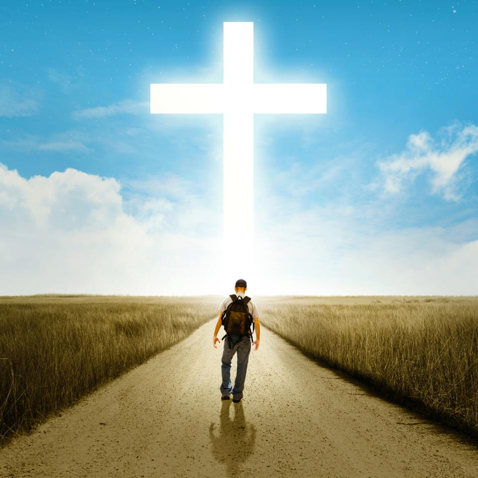 Man-walking-to-the-Cross