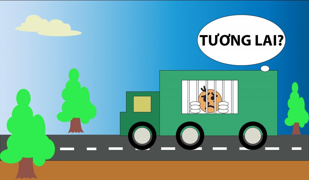 xe chở tù nhân